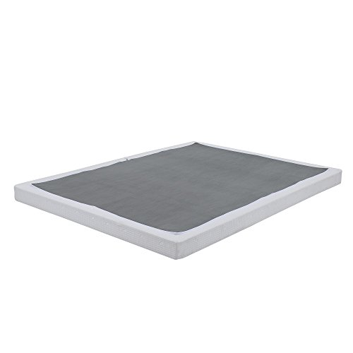 (Classic Brands Hercules Instant Folding Mattress Foundation Low Profile 4-Inch Box-Spring Replacement, Full)