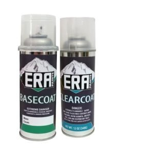 ERA Paints Automotive Spray Paint and Clearcoat for 1997 Ford Transit (Paint Code: F5 / M7053A Grabber Green Metallic) (Grabber Business)