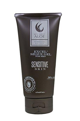 (Key West Aloe Excel Shave Gel - Sensitive Skin 6oz)
