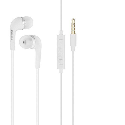 Cheap Accessories Samsung Premium Stereo Headset, 3.5mm, Non-Retail Packaging, White