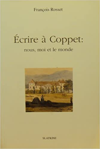 Book Ecrire a Coppet (French Edition)