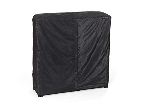 Covermates – Log Rack Cover – 4 FT 50L x 25W x 44H – Classic Collection – 2 YR Warranty – Year Around Protection - Black - Covermates Covers Smoker