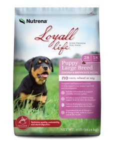 Loyall Life Large Breed Puppy Chicken & Brown Rice 40lb Review