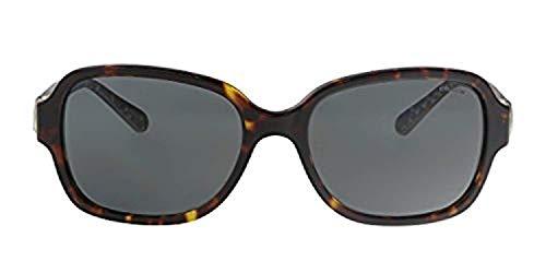 COACH Women's 0HC8241 Dark Tortoise/Dark Grey Solid One Size