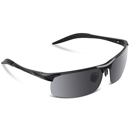 LYDF Fashion UV Protection Sunglasses for Men Polarized Sports Metal Superlight - Sunglasses Generic