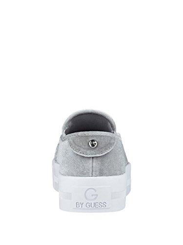 G Di Sneakers Slip On Sneakers Da Donna In Tessuto Grigio Chiaro