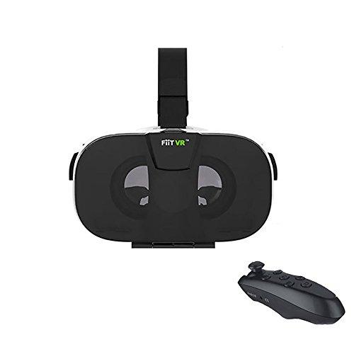 "FIIT 2N VR Glasses 3D VR Headset for 4.0-6.5 ""Smartphones +Bluetooth Remote Controller"
