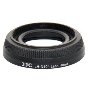 JJC LH-N104 Lens Hood Shade For Nikon 1 Nikkor 18.5mm f/1.8 Lens Replaces Nikon HB-N104