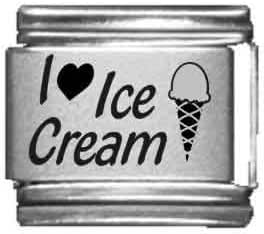 Charm ice cream in steel by Charming Charms
