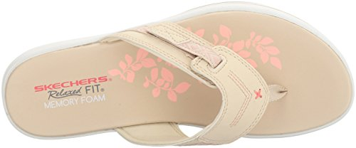 Natural 40898 Skechers Upgrades Sailin Pink 7Irdrq