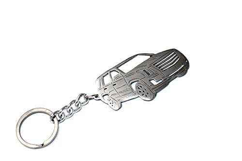 Amazon Com Stainless Steel Keychain Suitable For Cadillac Escalade