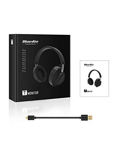 80a386e54e2 Bluedio TM Bluetooth Headphones Over Ear with Mic, Voice Control Hi-Fi  Stereo Wireless