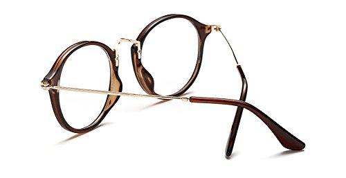 estilo redondos cristales Marrón Outray de Gafas retro a4wnWxwO