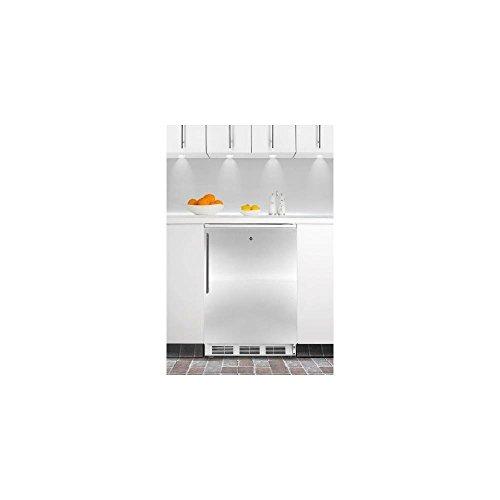 Summit FF7LBISSHV Refrigerator, Stainless Steel