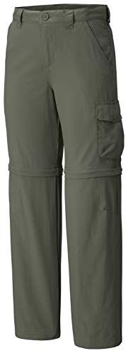 Convertible Green - Columbia Youth Boys Silver Ridge III Convertible Pants, Cypress, X-Large