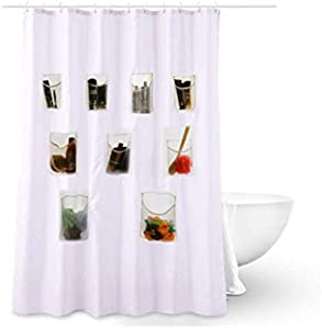 Sweepstakes: S H Design Water-Repellent Fabric Shower Curtain or Liner...