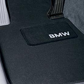 Bmw 135i Coupe (BMW Carpeted Floor Mats- (2008+ 128i & 135i Coupes) BLACK)