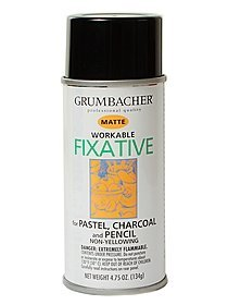 Prismacolor Myston Workable Fixative Spray 11.75 oz. by Prismacolor