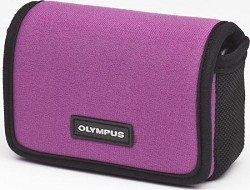 Olympus 202306 Horizontal Neoprene/Nylon Case (Plum) - Olympus Plum