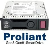 628182-001 Compatible HP G8 G9 3-TB 6G 7.2K 3.5 SATA SC