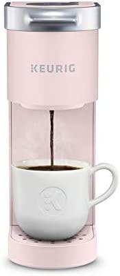 Keurig Ok-Mini Coffee Maker, Single Serve Ok-Cup Pod Coffee Brewer, 6 to twelve oz.. Brew Sizes, Dusty Rose