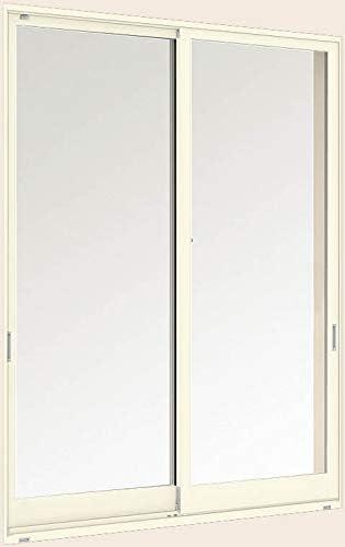 デュオPG 引き違い2枚建て 半外付型 16011 W:1,640mm × H:1,170mm ガラス種類:透明3mm-A12-透明3mm 製品色:ホワイト(W) アングル:付 LIXIL リクシル TOSTEM トステム