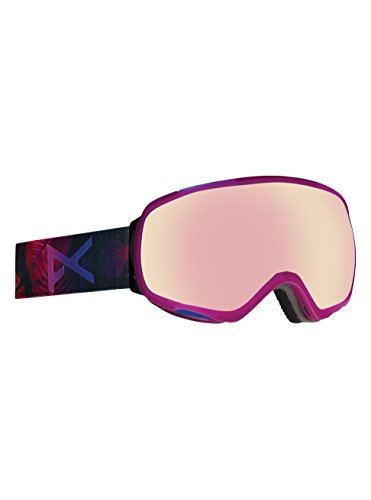 Anon Tempest Asian Fit Goggle, Digi Tiki/Pink Ice - Goggles Womens Anon