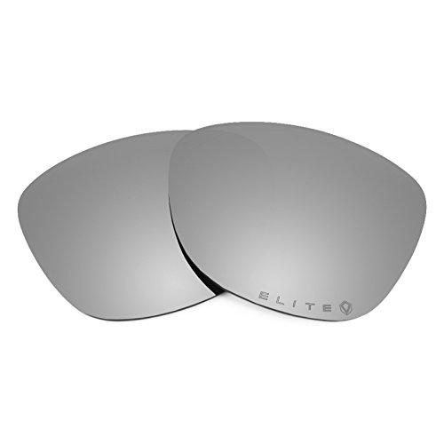 Revant Polarized Replacement Lenses for Oakley Frogskins Elite Titanium - Scratch Titanium Resistance