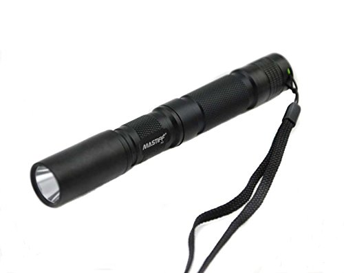 Mastiff A2 3w 405nm Ultraviolet Radiation Uv LED Black Light Lamp Flashlight Torch and Nylon Holster