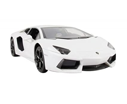 Amazon Com 1 14 Scale White Lamborghini Aventador Lp700 Radio