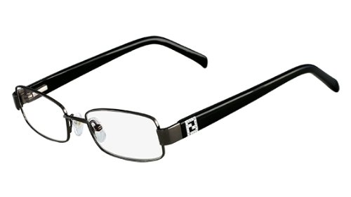 Fendi Rx Eyeglasses - F1029R Gunmetal / Frame only with demo - Prescription Sunglasses Fendi