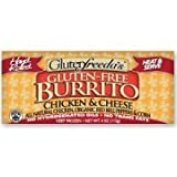 GLUTENFREEDAS Burrito, Chicken and Cheese, 4 Ounce (Pack of 12)
