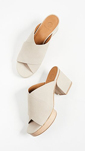 Coclico Shoes Womens Richie Block Heel Sandals Grain Beige DsAfwFkw