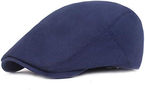DaoRier Hombre Sombreros Boinas Algodón Gorra Vintage Boina Gorra ...