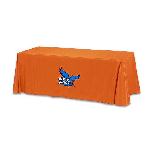 New Paltz Orange 6 foot Table Throw 'Official Logo' by CollegeFanGear