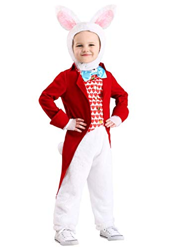 Rabbit Costumes For Toddlers - Toddler's White Rabbit Costume