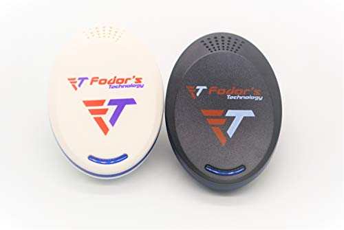 Ultrasonic Pest Repeller, Electronic Repellent Best Plug in 2-1 BL - Anti-Rodents, Squirrels, Mice, Rats, Insects - Roaches, Spiders, Fleas, Bed Bugs, Flies, Ants, Mosquitos, Fruit Fly, Pest Control by Fodor's Technology