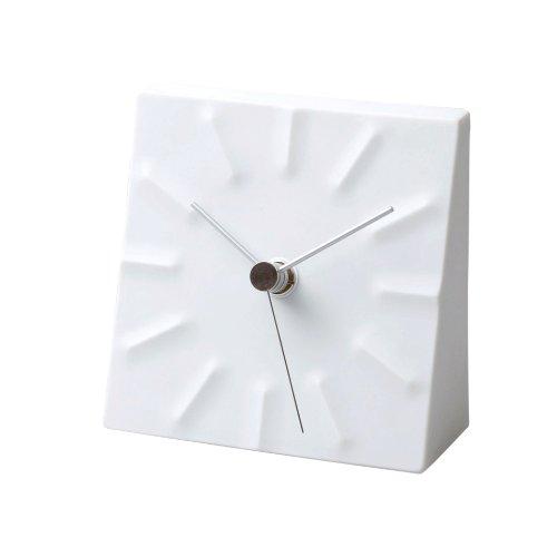 Lemnos Tension Porcelain Tabletop Clock