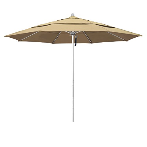 (Phat Tommy 11 Ft Silver Anodized Commercial Patio Market Umbrella - for Shade)
