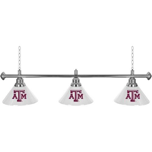 Texas A&M University 3 Shade Billiard Lamp by Trademark Gameroom