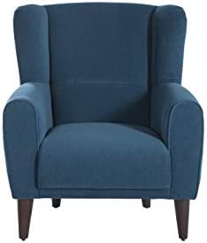 BELLONA Trendy Home Furniture Living Room Accent Chair Bolton Collection Blue