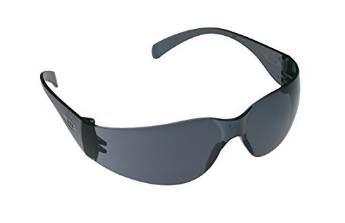 3M Tekk 11330 Virtua Anti-Fog Safety Glasses, Gray-Frame, Gray-Lens, 6-PACK