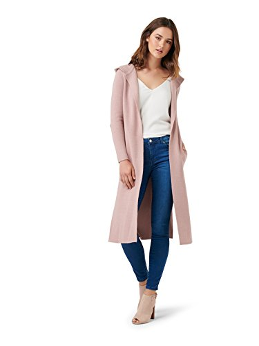 (Ever New Womens Lani Hooded Cardigan Dusty Pink)