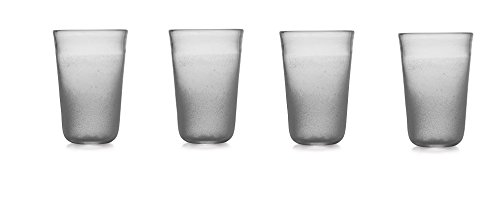 Michael Aram Torched Highball glasses (set of 4) by Michael Aram