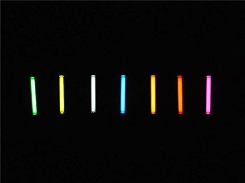 1pcs Trit Vials Tritium Multicolor Self-luminous 15-Years 3x22.5mm (Color Yellow) by KAMOLTECH (Image #6)