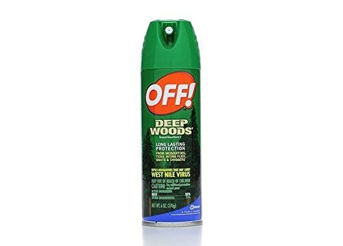 - Off Deep Woods Insect Repellent 6 Ounce Spray (2 Pack)