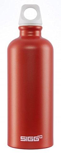 Sigg Traveller Water Bottle, 0.6L, Pack of 6 (Metal)