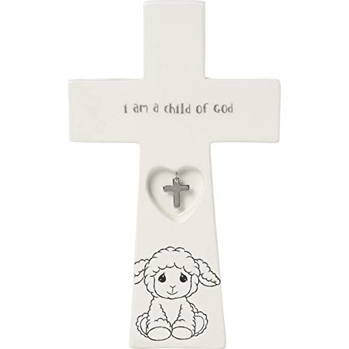 - Precious Moments Child of God 7.25-Inch Baptism Charm 183433 Cross One Size Multi