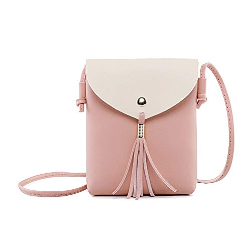 YEZIJIN Fashion Female Covered Crossbody Bag Coin Purse Fringed Bag Shoulder Bag