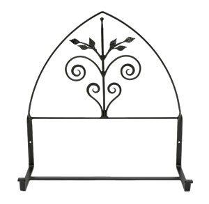 Achla Designs Wrought Iron Posy Window Flower Box Bracket